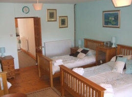 Gaer Farm Bed and Breakfast bedroom